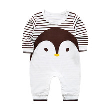 ZWF1058 Autumn Style Baby Rompers Fashion Boy Girl Cotton One Pcs Rompers Overalls Long Sleeve Baby Pajamas BabyJumpsuit Outfits