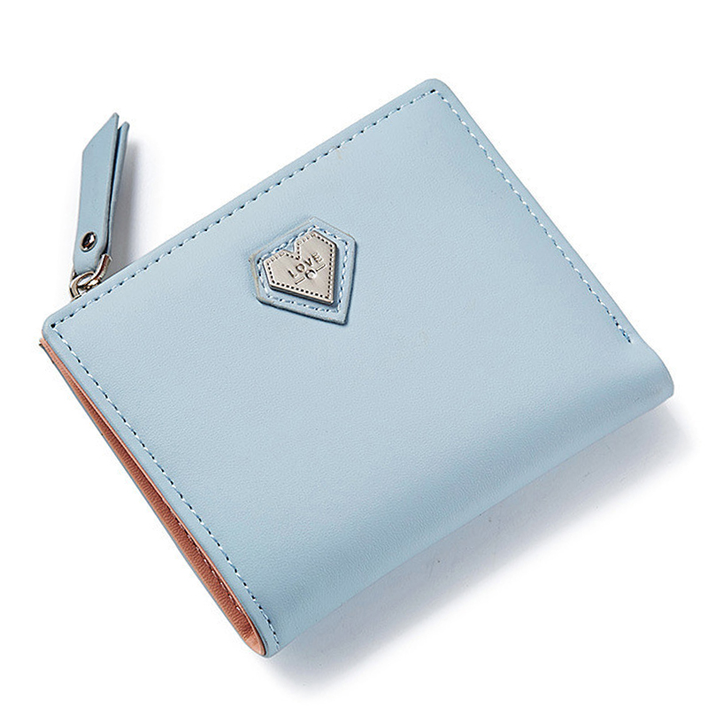 Brand Women Wallets Credit ID Card Holder Zipper Coin Pocket Ladies Small Purses Female Mini Wallet Carteira High Quality NEW