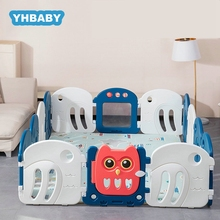 Baby Playpen Baby Toddler Fence 0-6 Years Old  Indoor Kids Fence Children Safety Barrier Bed Fence Home Indoor Playground