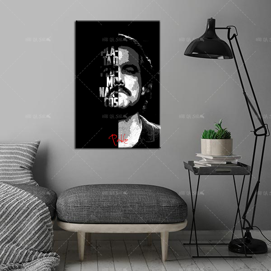 Tv Show Quotes text art poster Nordic Poster And Prints Wall Art Canvas X075