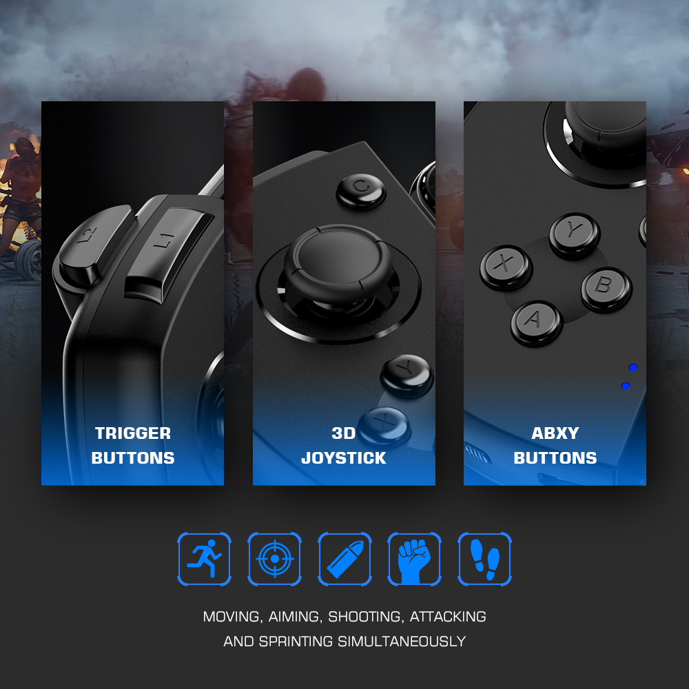 lowest price GameSir G6   G6s Mobile Gaming Touchroller Bluetooth Wireless Controller for Android Phone PUBG Mobile Call of Duty