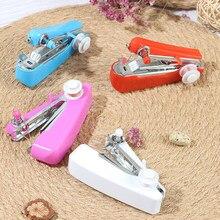1 pièces Portable Mini Machine à coudre manuelle Simple opération couture couture outils