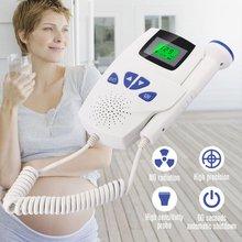 Household Doppler Fetal Portable Pregnant Baby Heart Rate Monitor 2.5MHz Pregnancy Baby Meter Fetal Sound Ultrasound Detector