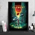 The Second Element Classic научно-фантастические кинопостеры и принты Картина на холсте картины на стену винтажное украшение домашний декор