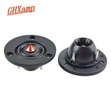 Ghxamp unidade de som dome de 2 polegadas, alto falante de seda hi-fi, 4ohm 30w, alto-falante automotivo, home theater, caixa de som diy f0-20 khz 2 peças