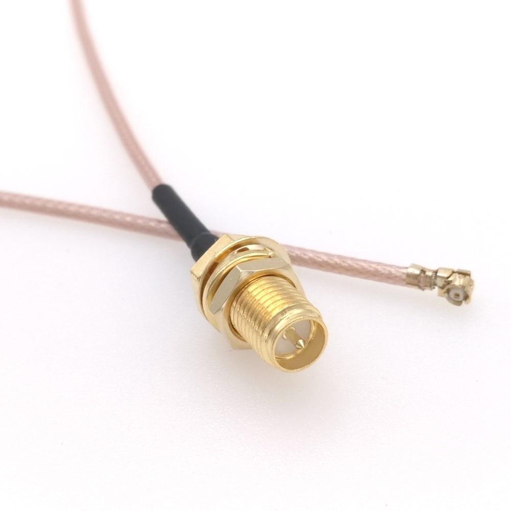 """10 pces RP-SMA fêmea para ufl/u. fl/ipx/ipex rf conjunto de adaptador coaxial rg178 trança 8 """"20 cm 25cm 10cm"""