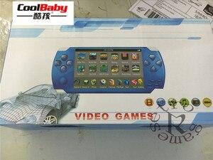 Image 4 - 2019 yeni dahili 5000 oyunları, 8GB 4.3 inç PMP el oyun oyuncu MP3 MP4 MP5 çalar Video FM kamera taşınabilir oyun konsolu