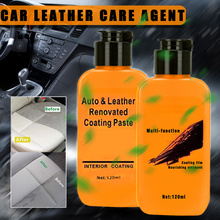 Auto Leather Renovated Coating Paste Maintenance Agent Car Interior Renovation Care Styling