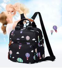 Pieluszka dla niemowląt zmiana pieluchy torba dla mamy plecak dla matki torby mama torba wózek opieka nad dzieckiem wodoodporny plecak torba na pieluchy tanie tanio Cotton Fabric zipper (30 cm Max Długość 50 cm) 14cm 10255 25cm 0 7kg Drukuj Backpack Nylon Zipper Hasp (30cm Max Length 50cm)