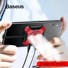 Baseus мобильный телефон игры кулер радиатор для iPhone 11 Pro X Xs Max XR радиатор охлаждения и аудио зарядный кабель адаптер
