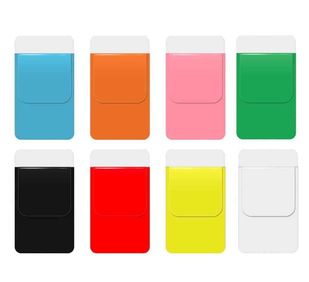 Xrhyy 6 Pack Pelindung Saku untuk Pen Kebocoran Sekolah Rumah Sakit dan Kantor Kemeja Celana Pelindung Saku Warna Acak
