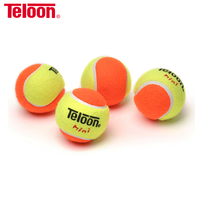 Teloon Tennis Training Balls For Children Kids Suit >5 Years Old Decompression 50% 25% 75% Teenager Indoor Squash Ball K004SPE