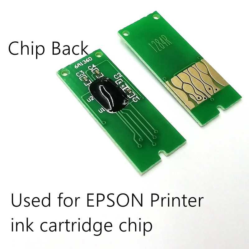 T1281 Tinggi Capacityprinter Chip Menggunakan CISS Cartridge Siklus Ulang Cetak SX125 SX420W SX425W SX235W SX130 Inkjet Printer T1291 CHIP