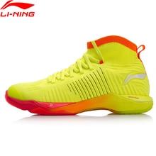 Клиренс) Li-Ning Мужская обувь для бадминтона с кинжалом, моно-нить, на подкладе, спортивная обувь, кроссовки AYAN015 XYY096