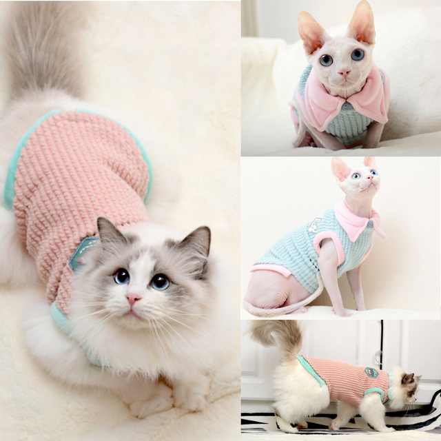 Cat Sleeveless Vest 4