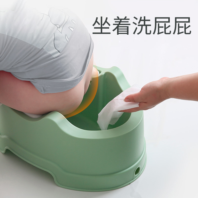 Infant Wash Butt Useful Product Baby Wash Ass Basin Newborns Wash Pp Tub Bathtub Supplies Toilet For Kids