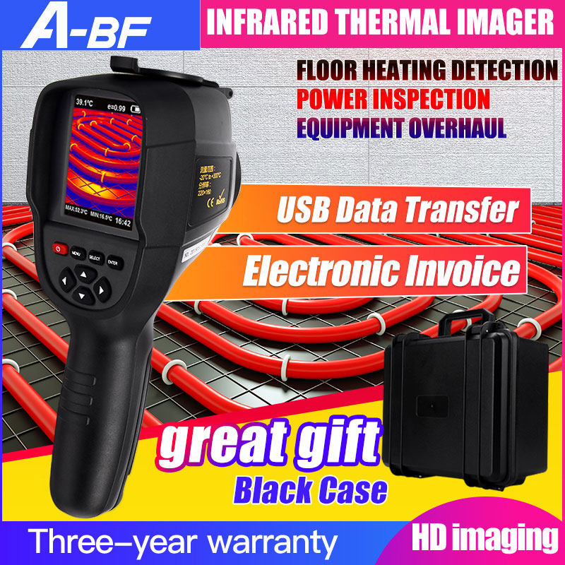A-BF Infrared Thermal Imager Handheld Portable Thermal Camera Digital Display High Infrared Image Resolution Thermal Imager image