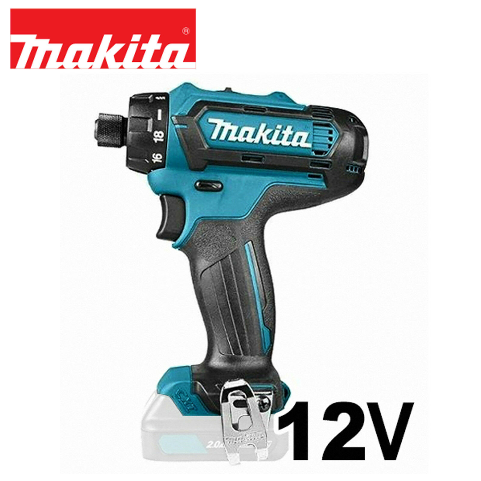 Brand Only Driver  Ion DF031DZ 8V Body Drill  DF031D Makita New CXT  Li 12V Cordless 10 DF031DSME
