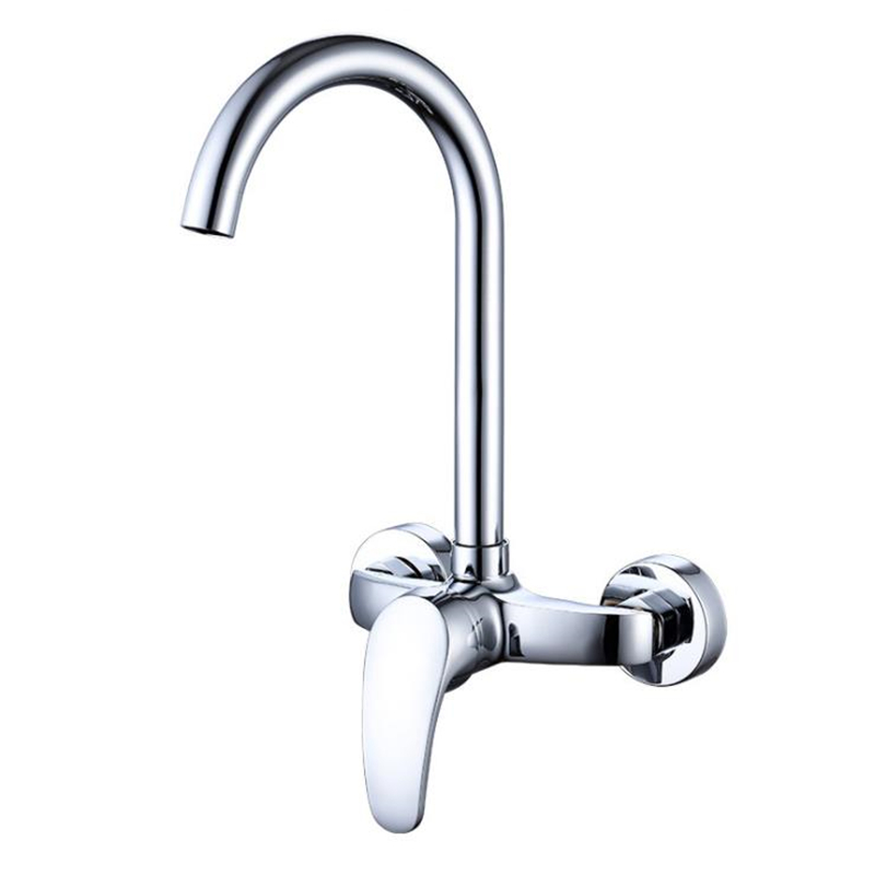 360 Rotation Faucet Brass Chrome Cold And Hot Water Power Swivel Kitchen Sink Mixer Tap Single Handle