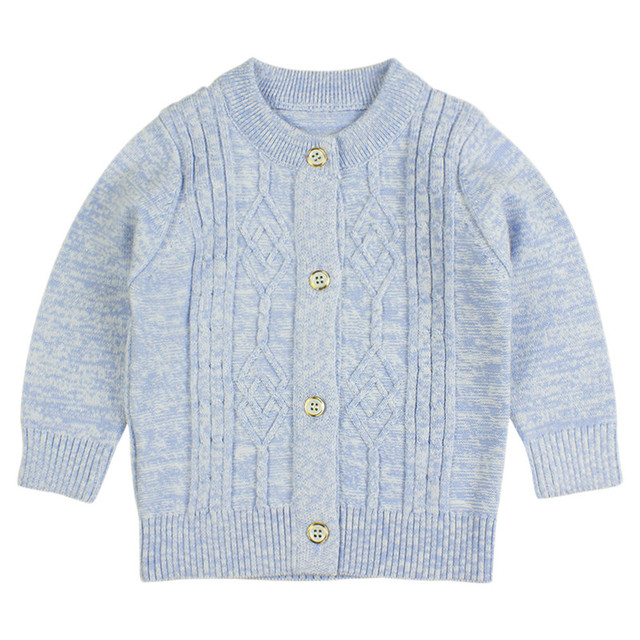 Cotton Baby Sweater for Boy Printed Soft Baby Girls Long