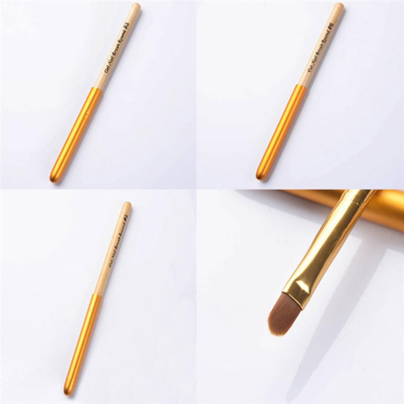 4Pcs Pack Practical Nail Pencil Supplies Tool Brush Round Head Light Therapy Coloring Pen For Nail Beauty Accessories in Nail Glitter from Beauty Health