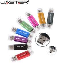 JASTER هاتف ذكي محرك فلاش USB OTG USB فلاش القرص بطاقة تخزين صغيرة ذاكرة عصا للهاتف U القرص 8 جيجابايت/16 جيجابايت/32 جيجابايت/64 جيجابايت pendrive