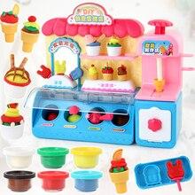 Hot New Plastic Toy Pretend Play Toy Baby Ice Cream Toys Sim