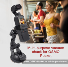 DJI OSMO Pocket Handheld Gimbal Camera Versatile Suction Cup Mount For Action / camera