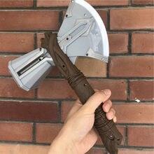 Som flash iluminação machado martelo stormbreaker crianças brinquedos cosplay armas filme papel trovão martelo americano super herói arma