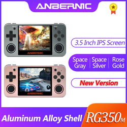 Nieuwe Anbernic Retro Game RG350 Video Games Upgrade Game Console Ps1 Game 64bit Opendingux 3.5 Inch 2500 + Games RG350m kind Gift