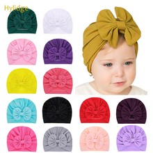 Baby Hats Beanie-Cap Photography-Props Toddler Turban Newborn-Hat Cotton Solid Hylidge