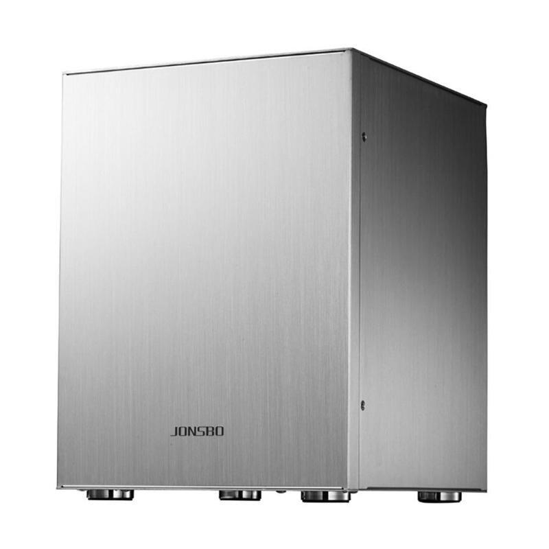 Jonsbo C2 Mini ITX Case Aluminum Computer Case Desktop PC Chassis for Mini ITX/Micro-ATX for 170*170mm/245*215mm Motherboard