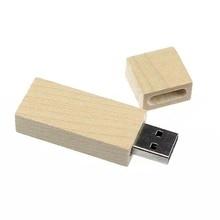 USB 2.0 Stick - Wood Storage Unit Sta High Speed USB 2.0 Stick U-Disk (4 GB)