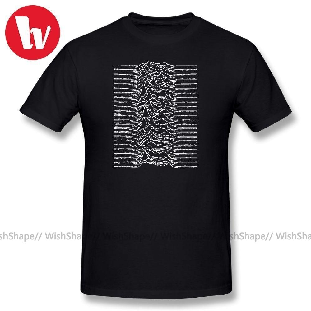 Joy Division T Shirt Unknown Pleasures   Joy Division Music Tee Shirt Summer Men T Shirts Fashion Graphic T Shirt Funny TshirtT-Shirts   -