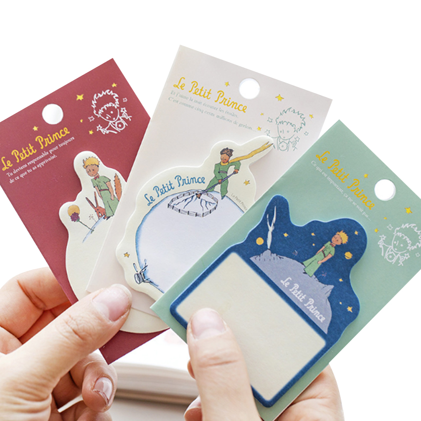 30pcs/pack Little Prince Note Planner Stickers Creative Office Novelty Sticky Notes School Supplies Stationery