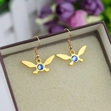 Jewelry-Accessories Drop-Earrings Triforce Charm-Alloy Navi Gift Classic Femme Simple