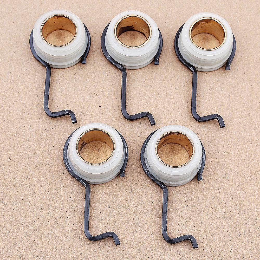 5PCS Worm Gear Spring For Stihl 044 046 MS341 MS361 MS362 MS440 #1128 640 7112
