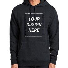 Custom Hoodies Voeg Uw Tekst Sweatshirt Aangepaste Lange Mouwen Hoge Kwaliteit Zware Gewicht Zachte Fleece Tops Hoody