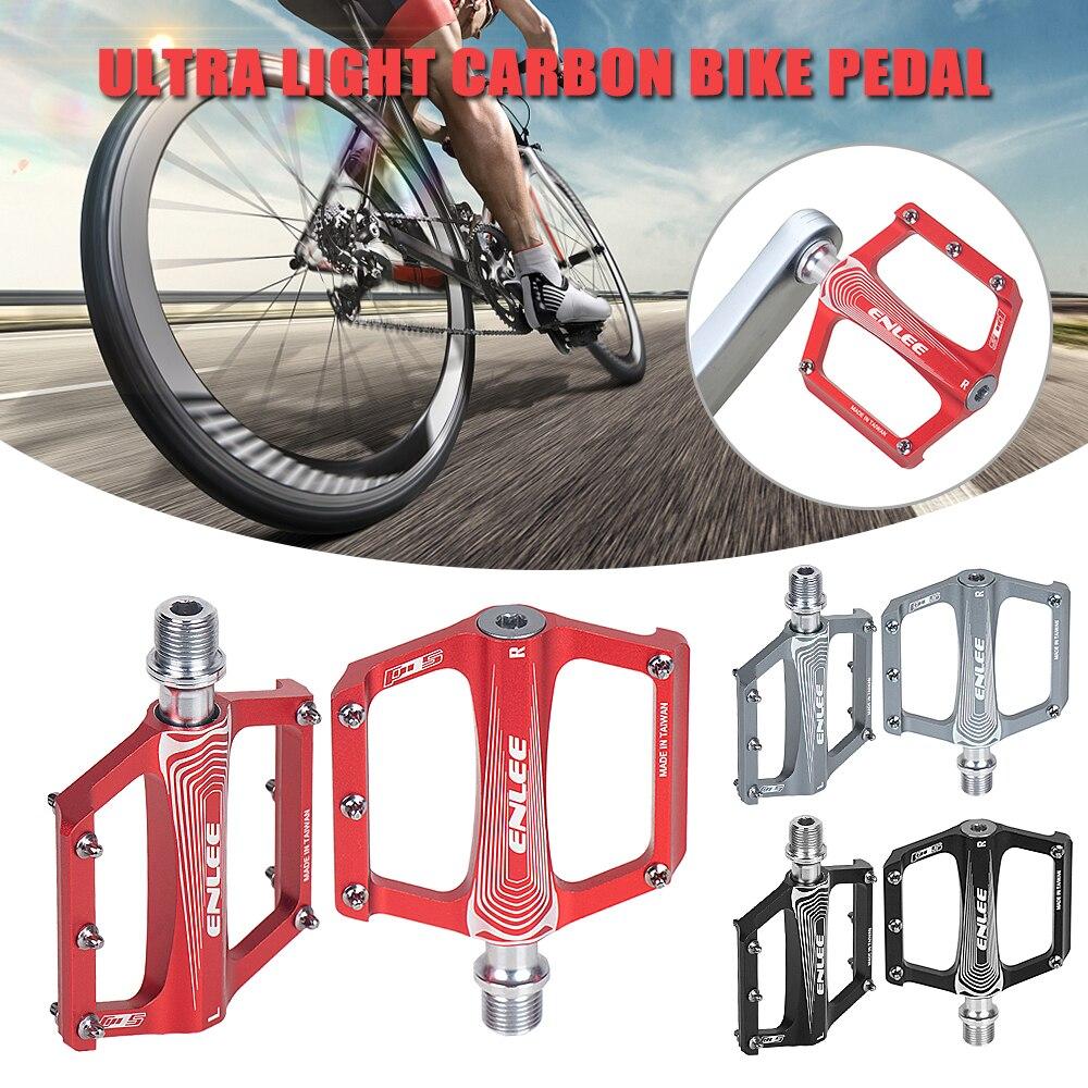 Folding Bicycle Pedal Aluminum Alloy MTB Road Bike Cycling Platform Pedals
