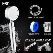 Ручной металлический душевой фильтр для ванной комнаты прочный