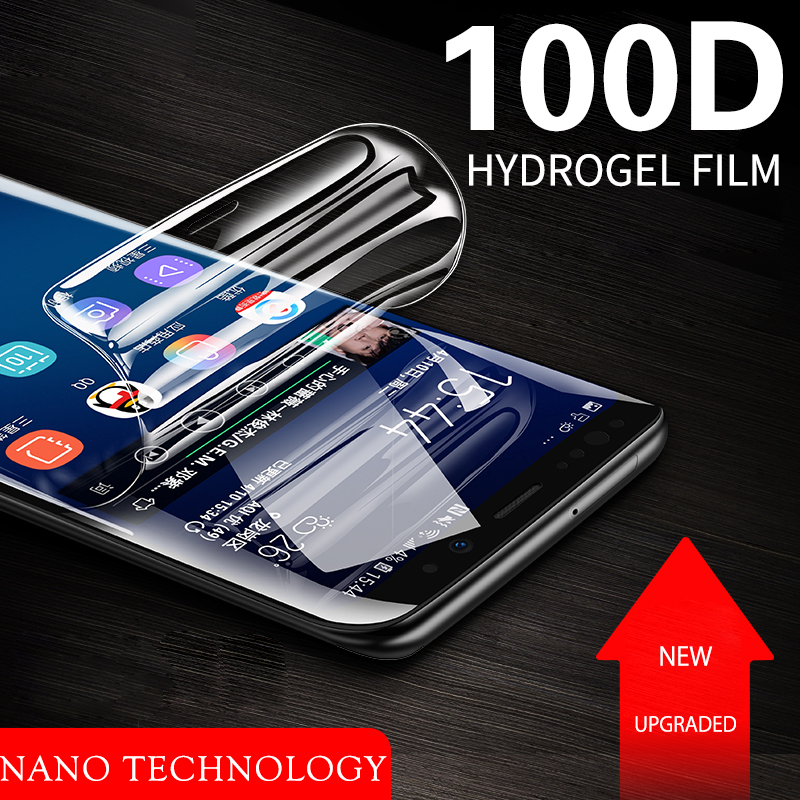 Liquid Hydrogel Film For Samsung Note 10 Galaxy Fold A80 A90 Nanotech Self Healing Screen Protector Full Cover Screen Protector image