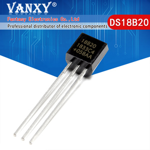 Image 1 - 100pcs DS18B20 18B20 18S20 TO 92 IC CHIP Thermometer Temperature Sensor