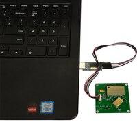 FONKAN samll 크기 3dBi 안테나가있는 50*50mm RFID 모듈 UHF RFID 902-928MHz Raspberry Pi TTL232 인터페이스 용 올인원 모듈
