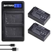 Batterie Batmax EN-EL20 EL20A EL20 + nouveau chargeur LCD double USB pour appareil photo numérique Nikon EN-EL20a 1 J1 J2 J3 S1 L10