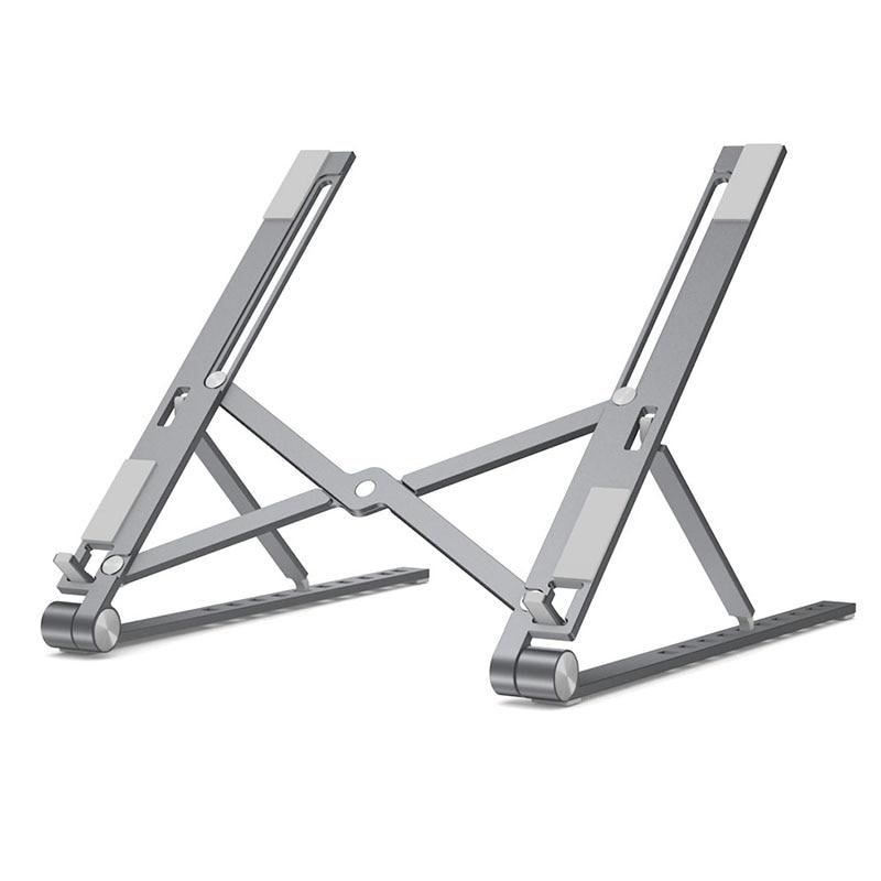 Laptop Cooling Stand Adjustable Foldable  Aluminum Desktop Notebook Holder Desk Stand For 7-15 Inch Macbook Pro Air
