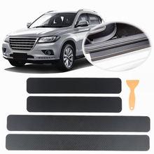 Универсальный 4 шт/компл 3d карбоновый припой стикер для автомобильной