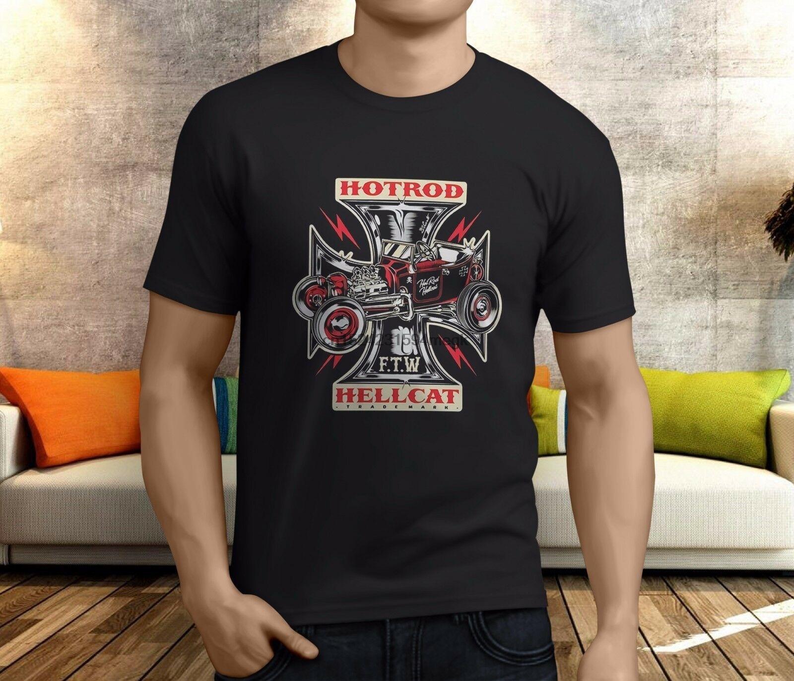 Tattoo,Biker,Custom Style Hotrod Hellcat Herren Motor Oil Kapuzenpullover