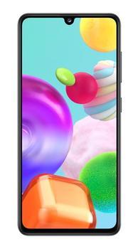 Перейти на Алиэкспресс и купить Смартфон Samsung Galaxy A41 4 Гб 64 Гб 6,1 дюйма черный