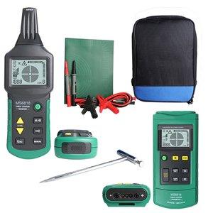 Novo 2020 Hot Portátil Professional Cable Rastreador Tubulação do Metal Locator Detector Tester Linha Rastreador 12 Tensão ~ 400V MS6818