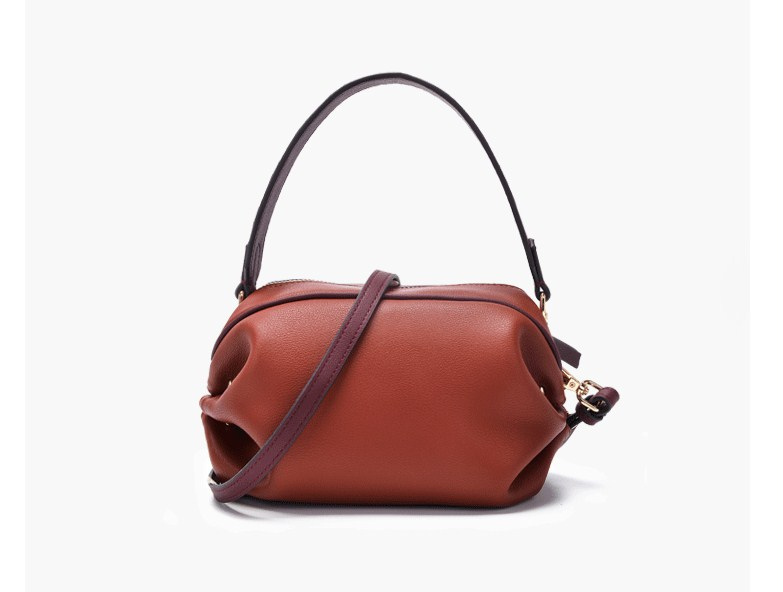 2019 nouveau style split cuir femmes petit sac à main avec longue sangle bandoulière sacs - 2